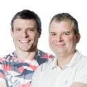 Tomáš Šebek  a Rudolf Ringelhán