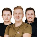 Dominik, Jan  a Václav Herkovi